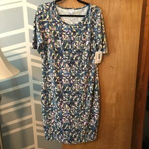 Lularoe Julia dress, size XL, NWT